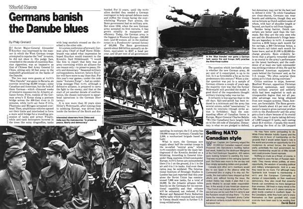 Article Preview: Germans banish the Danube blues, October 1978 | Maclean's