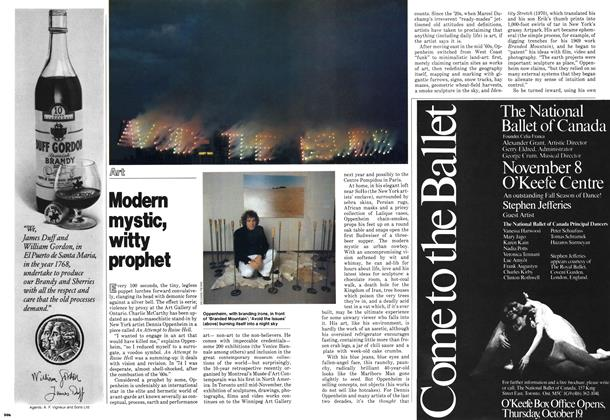 Article Preview: Modern mystic witty prophet, October 1978 | Maclean's
