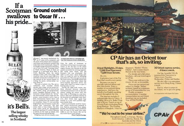 Article Preview: Ground control to Oscar IV..., October 1978 | Maclean's