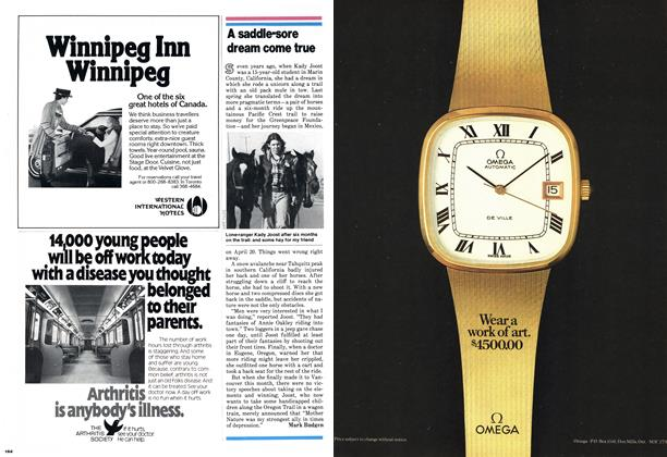 Article Preview: A saddle-sore dream come true, October 1978   Maclean's