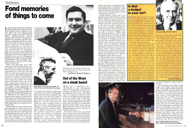 Article Preview: Fond memories of things to come, October 1978 | Maclean's