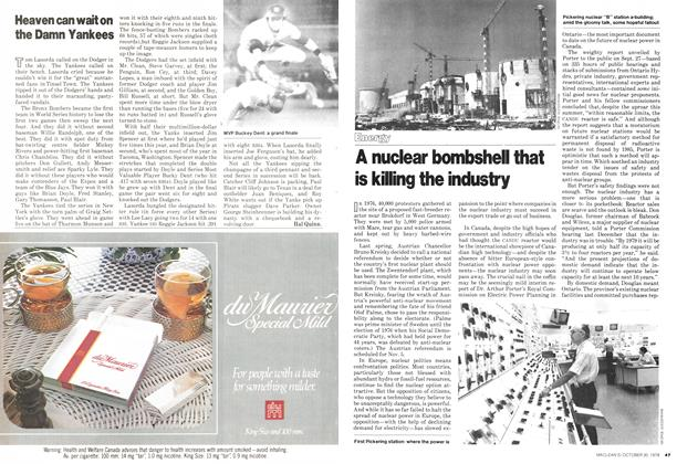Article Preview: A nuclear bombshel that is killing the industry, October 1978 | Maclean's