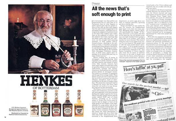 Article Preview: All the news that's soft enough to print, October 1978 | Maclean's