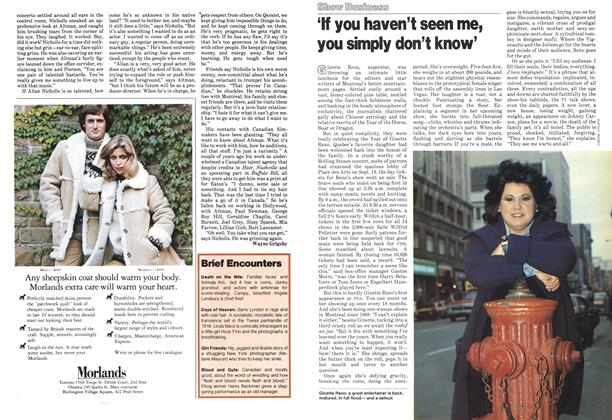 Article Preview: 'If you haven't seen me, you simply don't know', October 1978 | Maclean's