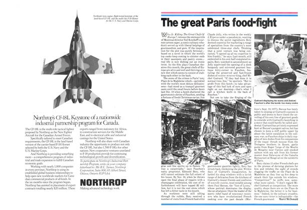 Article Preview: The great Paris food-fight, October 1978 | Maclean's