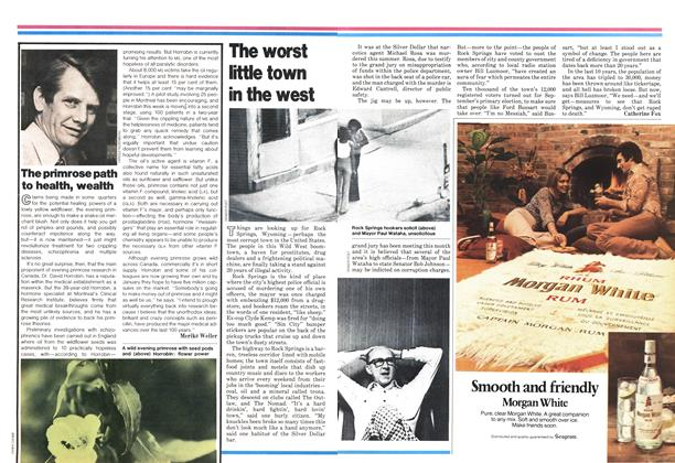Article Preview: The primrose path to health, wealth, October 1978 | Maclean's