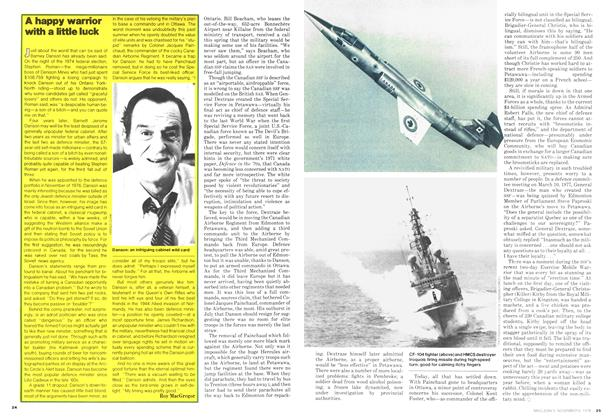 Article Preview: A happy warrior with a little luck, November 1978 | Maclean's