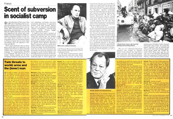 Article Preview: Scent of subversion in socialist camp, November 1978 | Maclean's