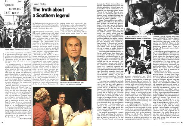 Article Preview: The truth about a Southern legend, November 1978 | Maclean's