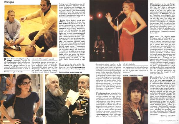 Article Preview: People, November 1978 | Maclean's