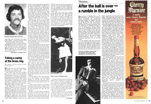 Article Preview: After the ball is over— a rumble in the jungle, November 1978 | Maclean's