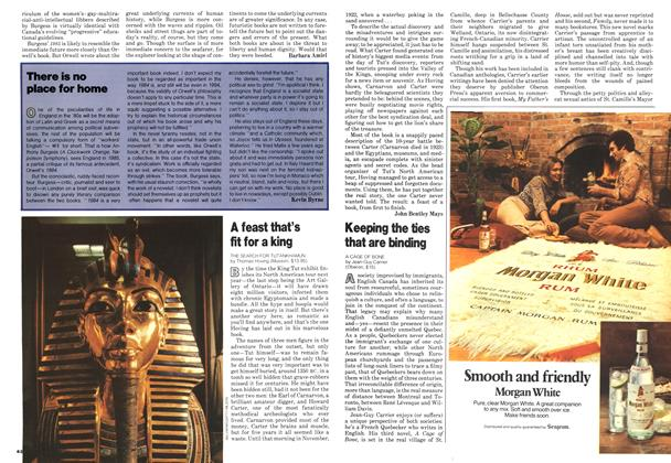 Article Preview: A feast that's fit for a king, November 1978 | Maclean's
