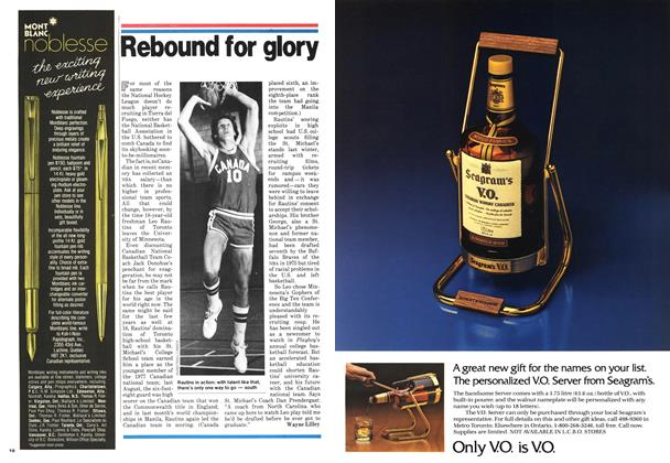 Article Preview: Rebound for glory, November 1978 | Maclean's