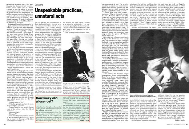 Article Preview: Unspeakable practices, unnatural acts, November 1978 | Maclean's