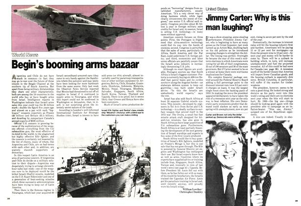 Article Preview: Jimmy Carter: Why is this man laughing?, November 1978 | Maclean's