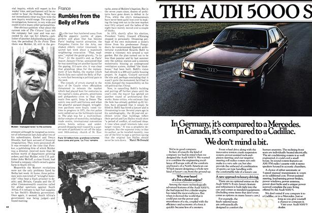 Article Preview: Rumbles from the Belly of Paris, November 1978 | Maclean's