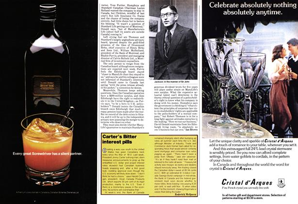 Article Preview: Carter's Bitter interest pills, November 1978 | Maclean's