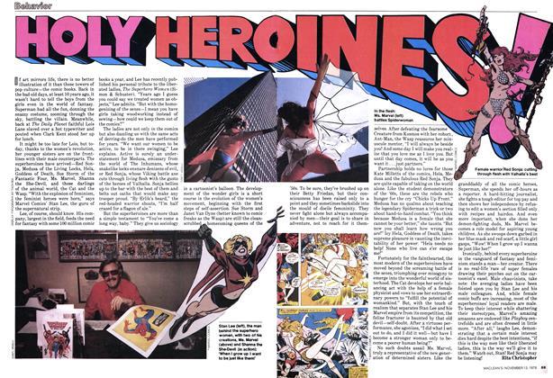 Article Preview: HOLY HEROINES!, November 1978 | Maclean's