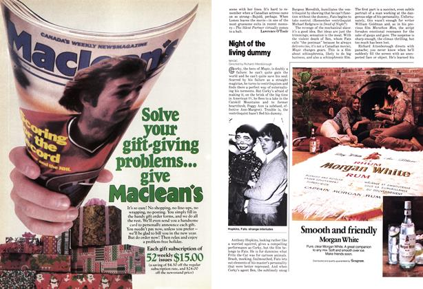 Article Preview: Night of the living dummy, November 1978 | Maclean's