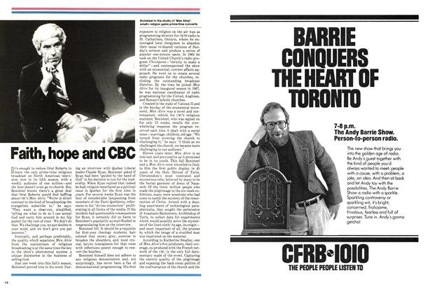 Article Preview: Faith, hope and CBC, November 1978 | Maclean's