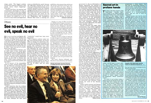 Article Preview: See no evil, hear no evil, speak no evi, November 1978 | Maclean's
