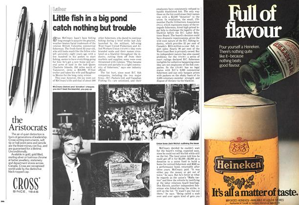 Article Preview: Little fish in a big pond catch nothing but trouble, November 1978 | Maclean's