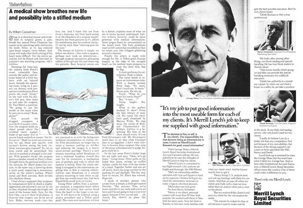 Article Preview: A medical show breathes new life and possibility into a stifled medium, November 1978 | Maclean's