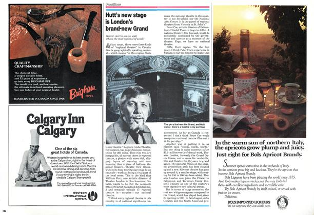 Article Preview: Hutt's new stage is London's brand-new Grand, November 1978 | Maclean's