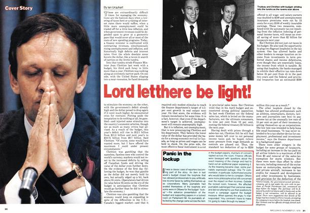 Article Preview: Lord let there be light!, November 1978 | Maclean's