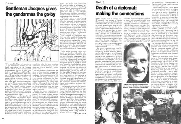 Article Preview: Gentleman Jacques gives the gendarmes the go-by, November 1978 | Maclean's