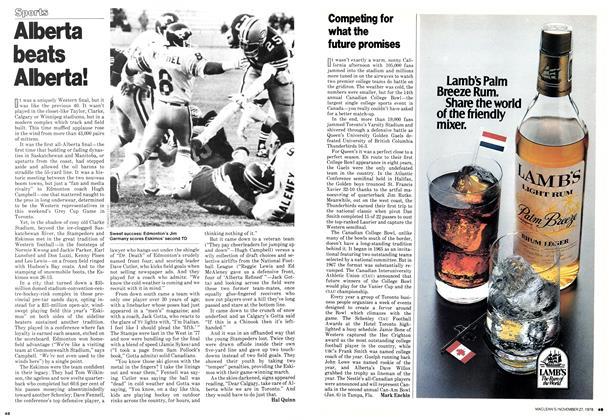 Article Preview: Alberta beats Alberta!, November 1978 | Maclean's