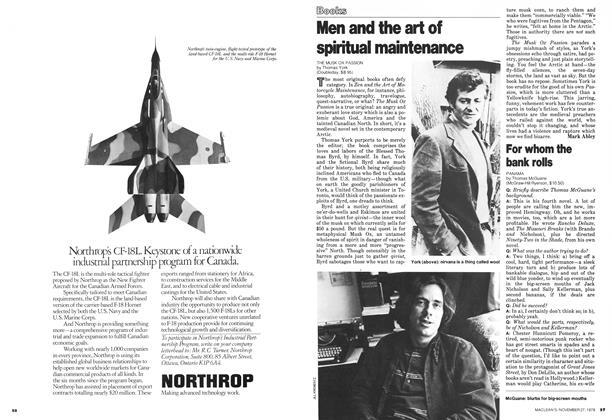 Article Preview: Men and the art of spiritual maintenance, November 1978   Maclean's