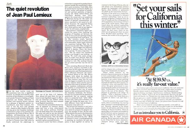 Article Preview: The quiet revolution of Jean Paul Lemieux, November 1978 | Maclean's