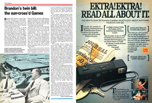 Article Preview: Brandon's twin bill: the sun-cross'd Games, December 1978 | Maclean's