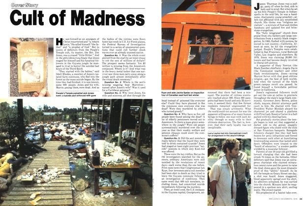 Article Preview: Cult of Madness, December 1978 | Maclean's