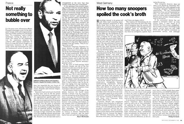 Article Preview: Not really something to bubble over, December 1978 | Maclean's