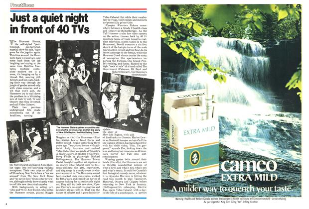 Article Preview: Just a quiet night in front of 40 TVs, December 1978 | Maclean's
