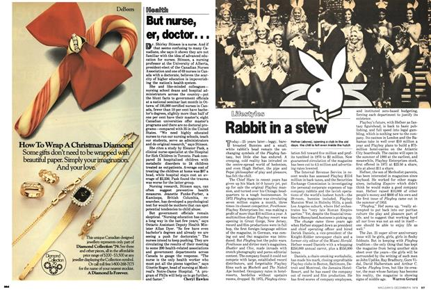 Article Preview: Rabbit in a stew, December 1978 | Maclean's