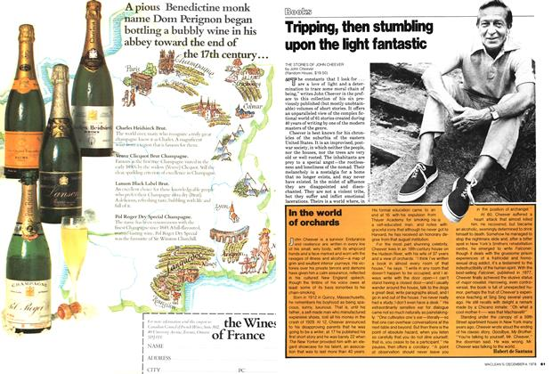 Article Preview: Tripping, then stumbling upon the light fantastic, December 1978 | Maclean's
