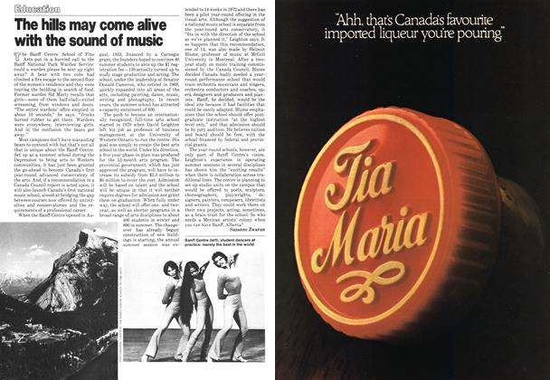 Article Preview: The hills may come alive with the sound of music, December 1978 | Maclean's