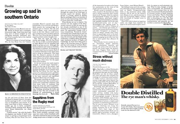 Article Preview: Stress without much distress, December 1978   Maclean's