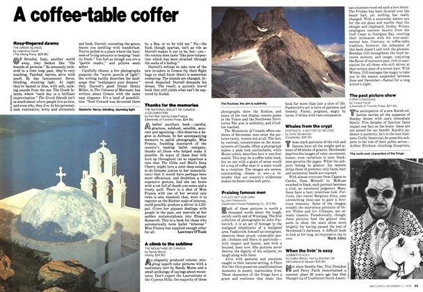Article Preview: A coffee-table coffer, December 1978 | Maclean's
