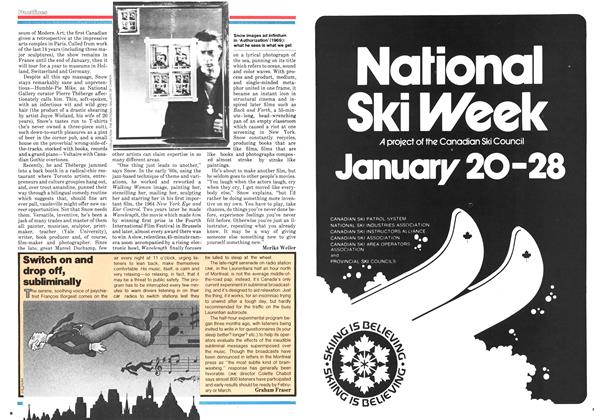 Article Preview: Switch on and drop off, subliminally, December 1978 | Maclean's