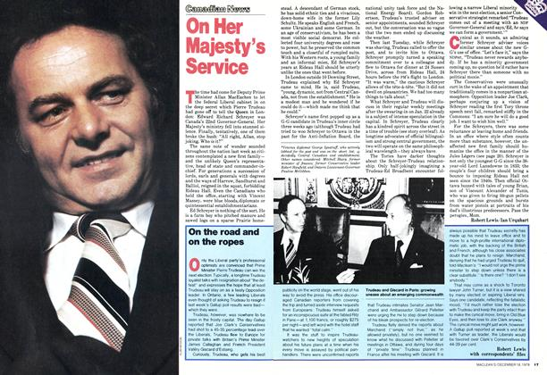 Article Preview: On Her Majesty's Service, DECEMBER 1978 | Maclean's