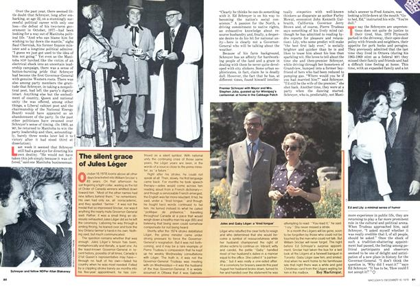 Article Preview: The silent grace of Jules Léger, DECEMBER 1978 | Maclean's