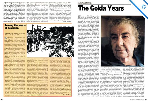 Article Preview: The Golda Years, DECEMBER 1978 | Maclean's
