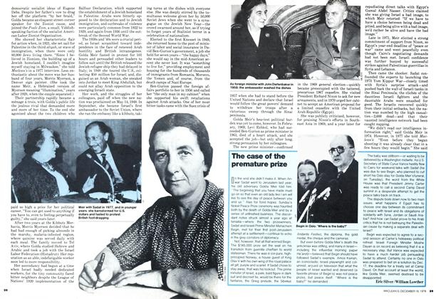 Article Preview: The case of the premature prize, DECEMBER 1978 | Maclean's