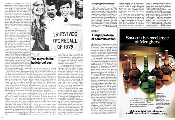 Article Preview: The mayor in the bulletproof vest, DECEMBER 1978 | Maclean's