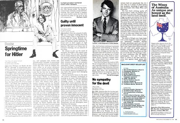 Article Preview: Springtime for Hitler, DECEMBER 1978 | Maclean's