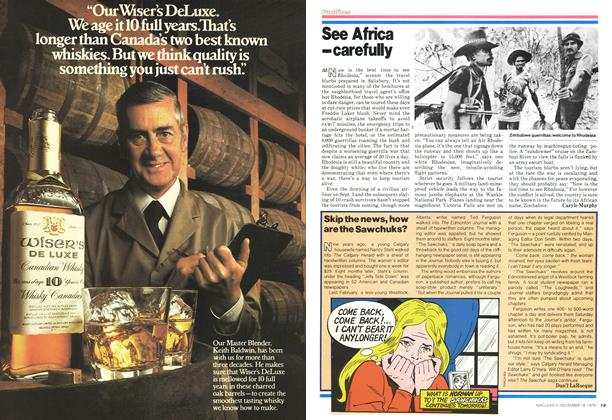 Article Preview: Skip the news, how are the Sawchuks?, DECEMBER 1978 | Maclean's